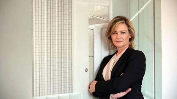 Maria Cristina Berardi, titolare di Scrigno (foto Petrangeli)