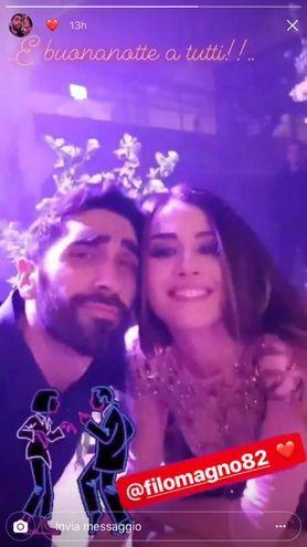 Giorgia Palmas e Filippo Magnini (Instagram)