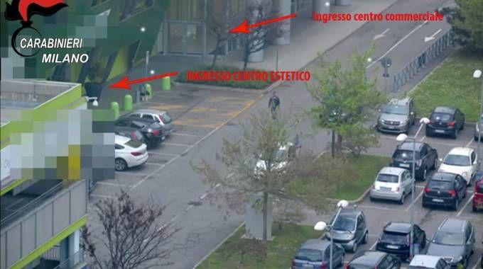 Il parcheggio del Move In di Cerro Maggiore