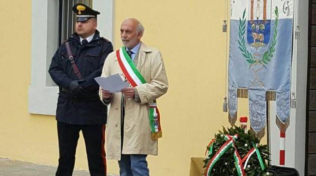 Il sindaco  di Vidolasco Antonio Grassi