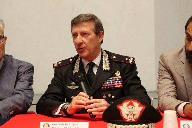 Il generale Parrulli (Foto Schicchi)