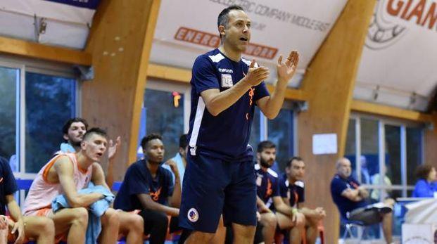 Coach Daniele Quilici e la Sangiorgese