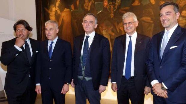 Tacoli, Del Ghingaro, Rossi, Poerio e Curci