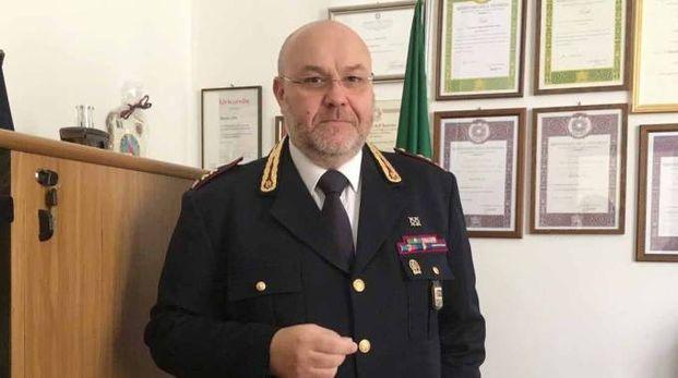 Il dirigente della questura Bruno Zito (foto Donzelli)