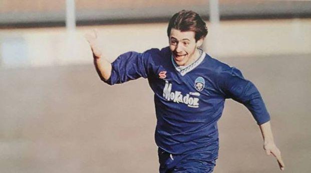 Andrea Raspanti con la maglia del Faenza