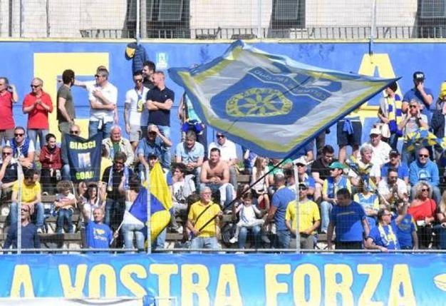 Carrarese-Arezzo, le foto della partita (Delia)