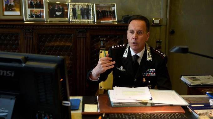 Il colonnello Andrea Desideri, comandante provinciale dei carabinieri di Ferrara