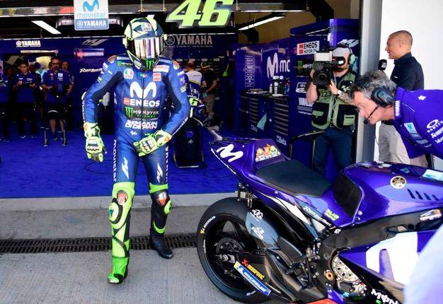 Valentino Rossi (Yamaha) voto 4