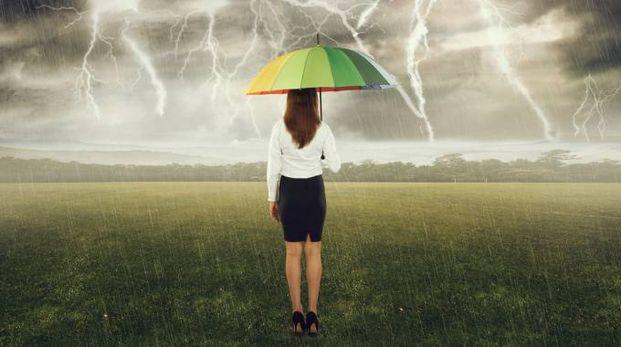 Previsioni meteo, settimana di piogge e temporali sull'Italia (foto iStock)