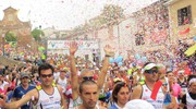 La ColleMar-athon è un indiscutibile grande successo: circa 1.600 runner dall'Italia e dall'estero (foto Sandro Franceschetti)