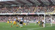 Il gol del Parma al 56' (foto Ravaglia)