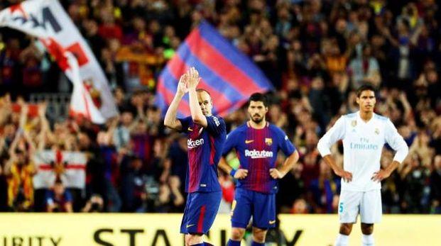 Iniesta all'utimo clasico con la maglia del Barcellona | numerosette.eu
