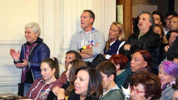 Il pubblico presente il 3 novembre in consiglio comunale