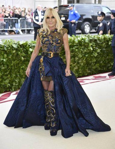 Donatella Versace (Ansa)