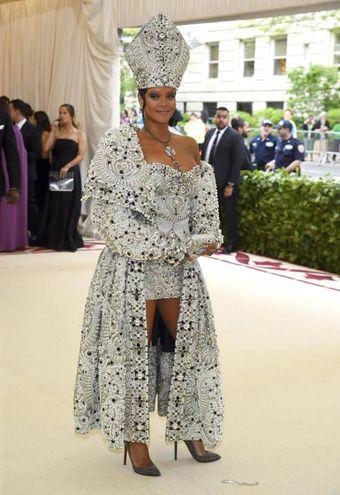 Rihanna per Maison Margiela (Ansa)