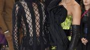 Cara Delevingne in Dior Couture (Ansa)