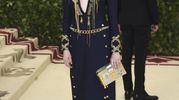 Emma Stone in Louis Vuitton (Ansa)