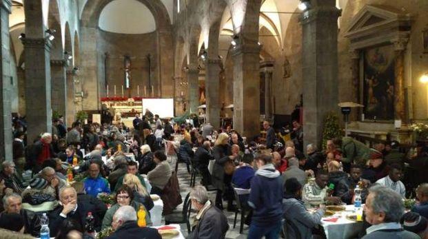 Pranzo di Natale della Comunita di Sant'Egidio a Lucca