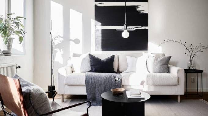 Appartamento dallo stile essenziale e dall'atmosfera industrial chic