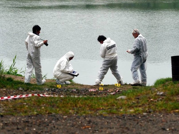 Ucciso e gettato nel fiume Magra (Pasquali)