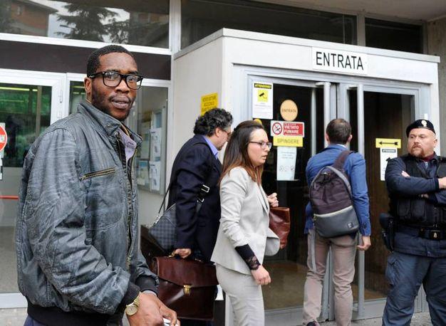 Inizia il processo a Luca Traini, autore della sparatoria che ha terorizzato Macerata (foto Calavita)