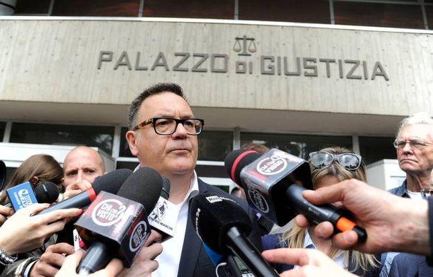 L'avvocato di Traini, Giancarlo Giulianelli (foto Calavita)