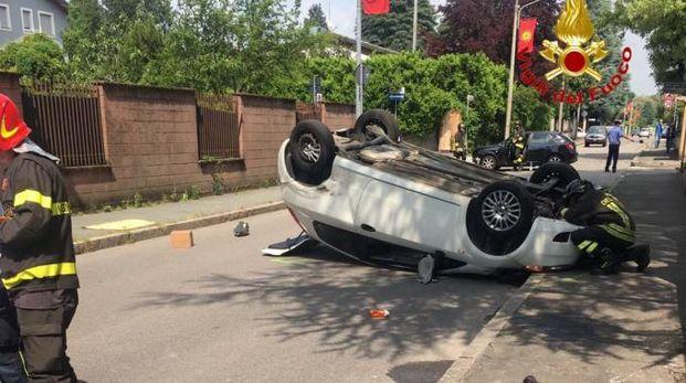 Incidente in via Volta a Legnano