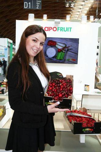 Lo stand Apofruit (foto Ravaglia)