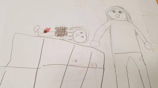 Alcuni disegni di vittime del bullismo curati dalla dottoressa Francesca Maisano del centro sul disagio adolescenziale del Fatebenefratelli