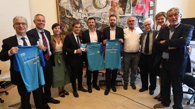 La presentazione della StraBologna 2018 (foto Schicchi)