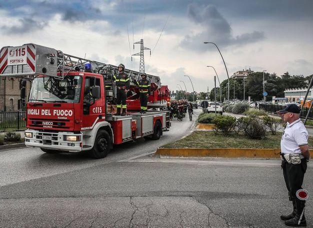 I funerali di Daniele Clizia, il pompiere 49enne ucciso dal malore (Fotoprint)