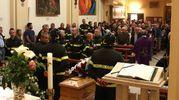 La celebrazione nella chiesa di San Cristoforo (Fotoprint)