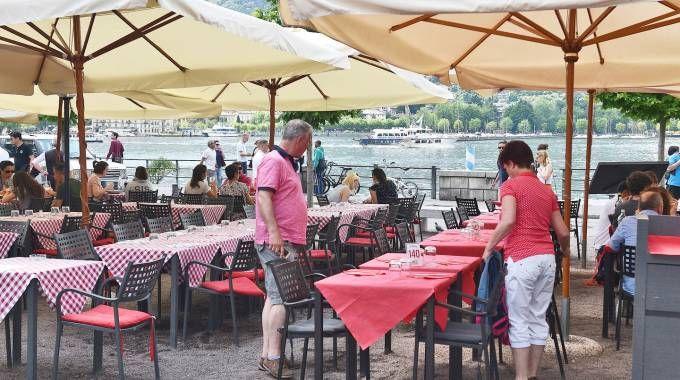 Piazza De Gasperi lungo viale Geno è uno dei luoghi più votati al turismo della città