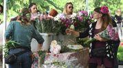 249 espositori tra produttori di piante e fiori, arredi e attrezzature per il giardinaggio, abbigliamento, artigianato artistico e prodotti dei territori (foto Schicchi)