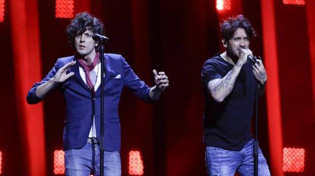 Eurovision Song Contest 2018, Ermal Meta e Fabrizio Moro (Ansa)