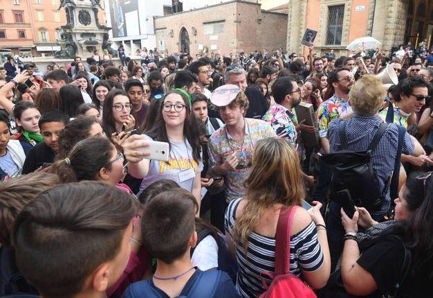 La grande festa in centro (foto Schicchi)