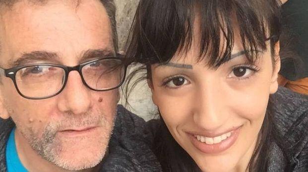 Un'immagine di Michael Cariglia e di Azzurra Moreci, la coppia costretta a stare nascosta