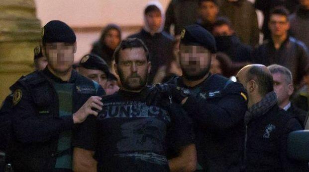 Norbert Feher conosciuto come Igor il russo, arrestato in Spagna (Ansa)