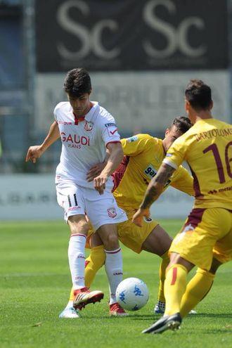 Federico Melchiorri, gol al 41' (Foto Lapresse