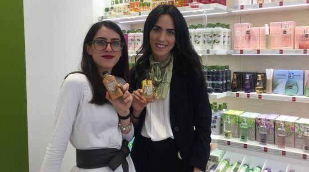 Laura Capitani e Giulia Bonci di 'Yves Rocher'