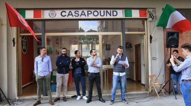 Inaugurazione sede Casapound a Scandicci (Firenze)