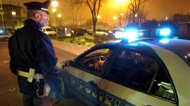 Sul posto è intervenuta la polizia (foto archivio Businesspress)