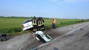L'automobilista è purtroppo deceduto sul colpo (Scardovi)