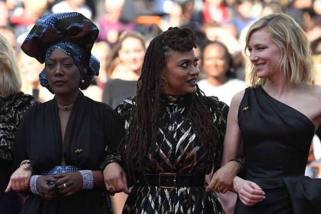 Jury Khadja Nin, ury Ava DuVernay e Cate Blanchett (Lapresse)