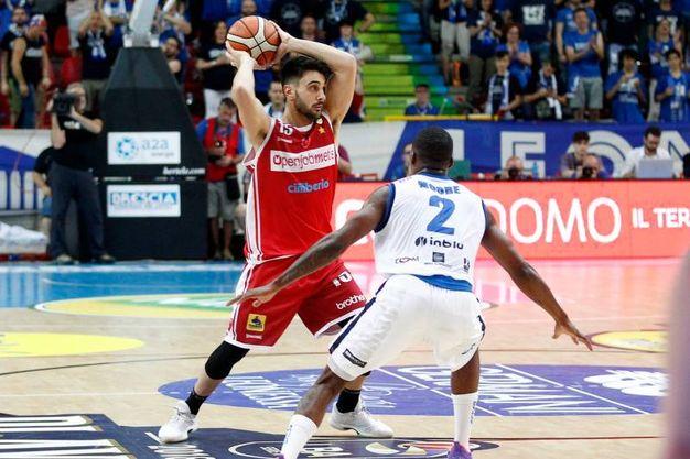 Germani Basket Brescia-Openjobmetis Varese (foto Lapresse)