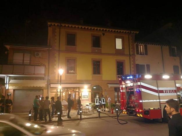 Incendio al Sotto Sale