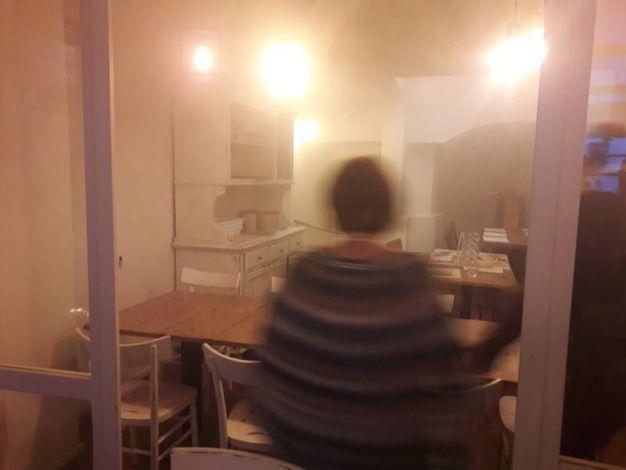 Il fumo nel locale