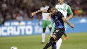 Inter-Sassuolo: gol di Rafinha (foto Ansa)