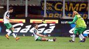 Inter-Sassuolo: esultanza per il gol di Berardi (foto Ansa)