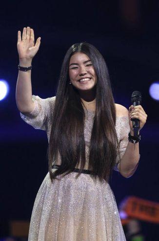 La cantante russa Polina Bogusevich (Ansa)